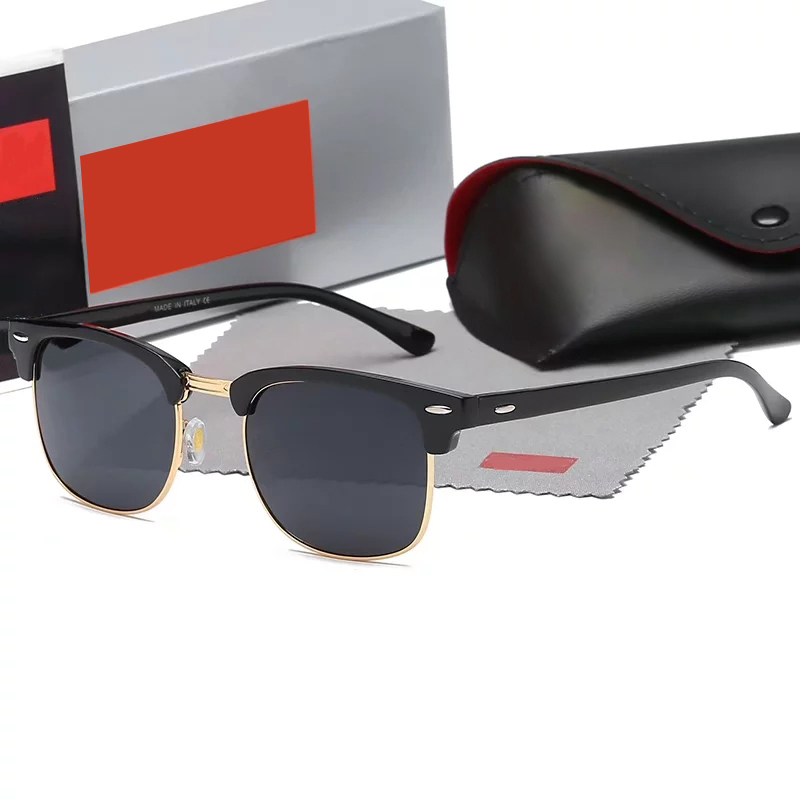Master-class classic men women sunglasses glass lens UV400 acetate frame.Suitable for sunshading, driving and fishing on the beach. Leather case packing box