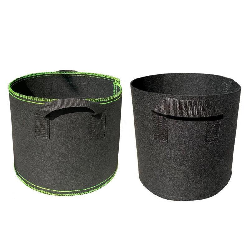 Premium Series 1-30 Gallon Plant Grow Bags Heavy Duty Container 300g Thickened Nonwoven Fabric Plant Pots 5 Gallon Planters with Handles