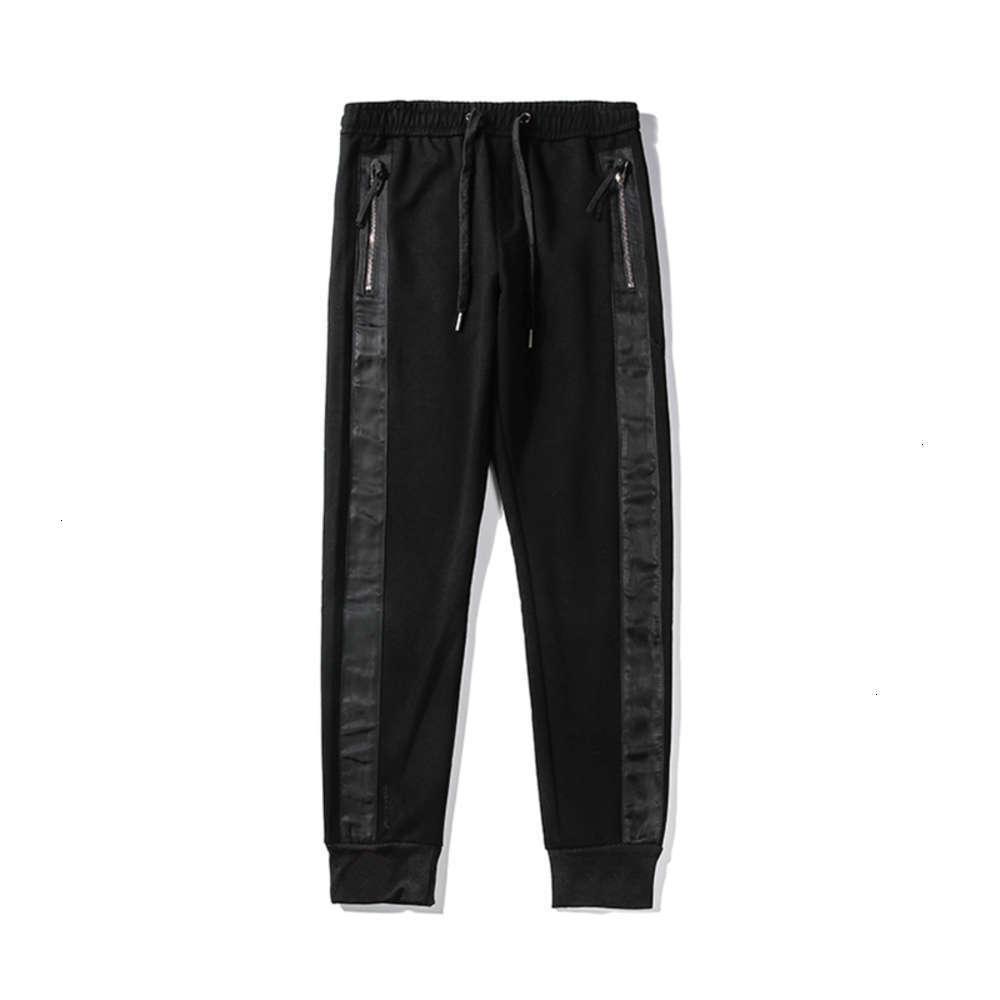 Famous Mens stylist Pants High Quality Mens stylist Trousers Men Women All-match Fashion Black Sports Jogger Pants