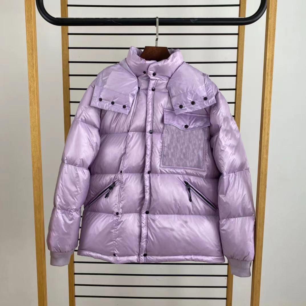 men down jackets Parkas Fujiwara Hiroshi co-branded French brand autumn and winter short jacket fashion hooded warm coats