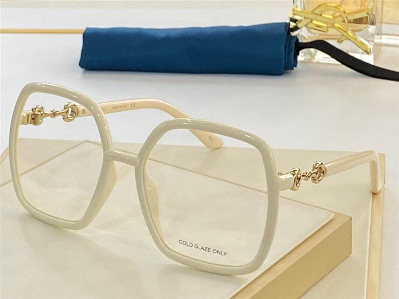 0890 New Fashion eye glasses for Women Vintage square Frame popular Top Quality come With Case classic 0890S optical glasses