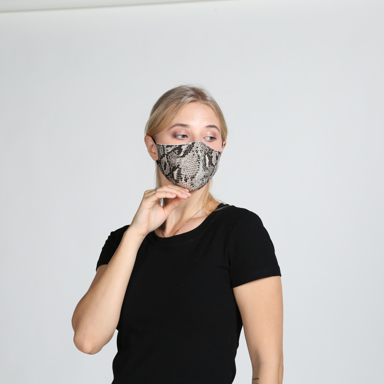 DHL Shipping Adults Cycling Mask Camouflage Face Covering Reusable Leopard Print Masks Breathable Washable Cotton Mouth Cover Kimter-L843FA