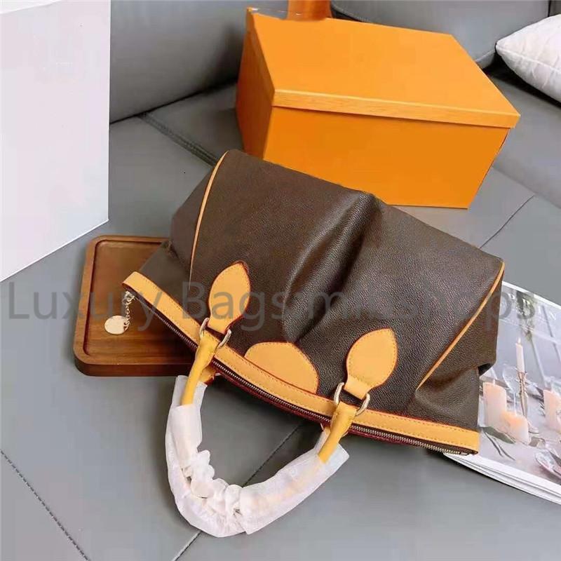 luxury designer Tote Fashion womens large Hobos Printed Handbag Vintage Real leather ladies Shoulder Bag purse Handbags919 Casual Tote bags