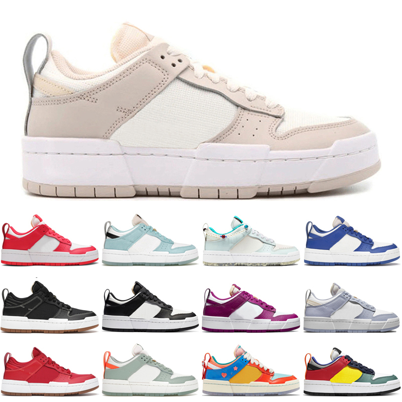 Sail dunk disrupt low running shoes for men women Black White Cactus Flower Copa Game Royal Ghost Photon Dust Desert Sand mens trainers sport sneakers