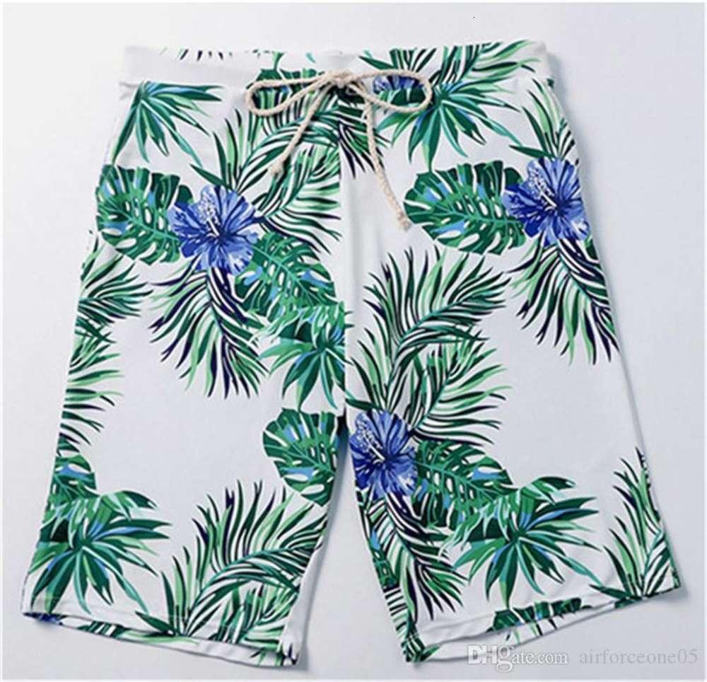 Designer Swimwear Couples Hawaii Holidays Swim Clothes Summer Beach Mens Designer Swimwear Fashion Flora Printed Womens