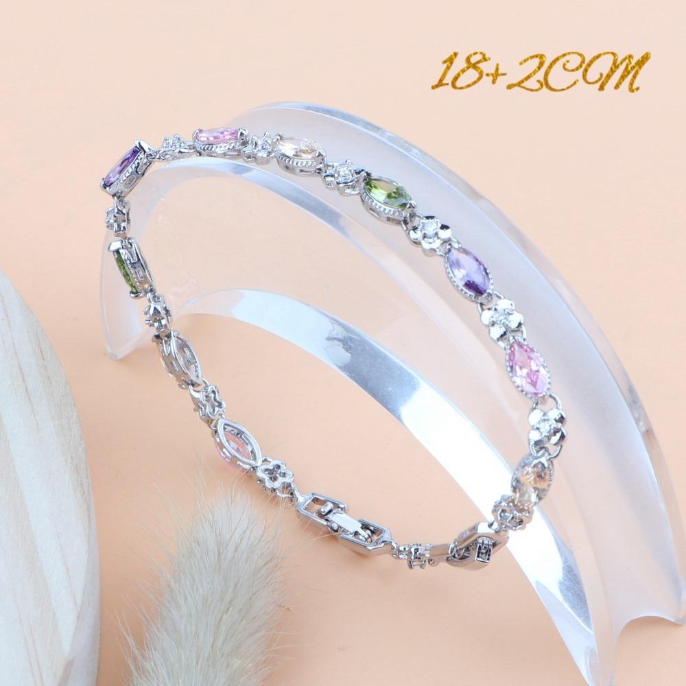 Silver 925 Zirconia Jewelry Sets