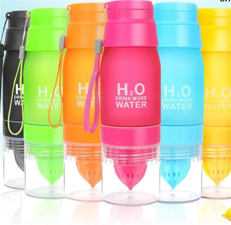 Frosting Manual Juice Cup Originality Multi Function Gift Water Bottle Coffee Drink Plastic Mug Convenient 8 3jf F2