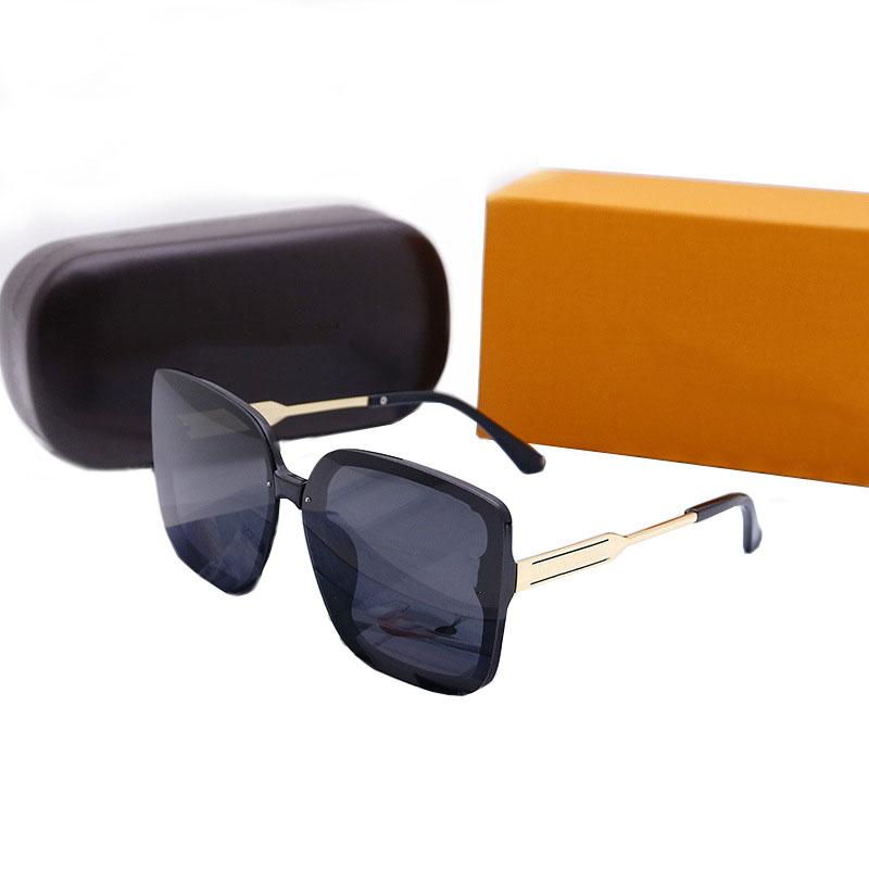 Flash Deals sunglasses fashion glasses top quality designer for man woman polarized UV400 lenses leather case cloth box accessories