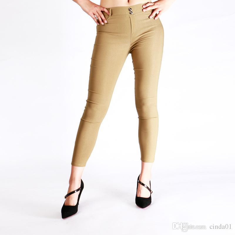 Hot Sexy Women Butt Lift Pants Colombian Brazilian Style Stretchy Skinny Leggings Pencil Slim Jeans Thin Capris Trousers