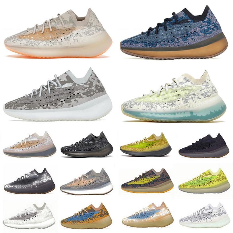 380 kanye mens running shoes Covellite Hylte Calcite Glow pepper Stone Salt Lmnte Mist Alien blue Oat 380s Yecoraite RF Onyx west men women trainer sports sneakers