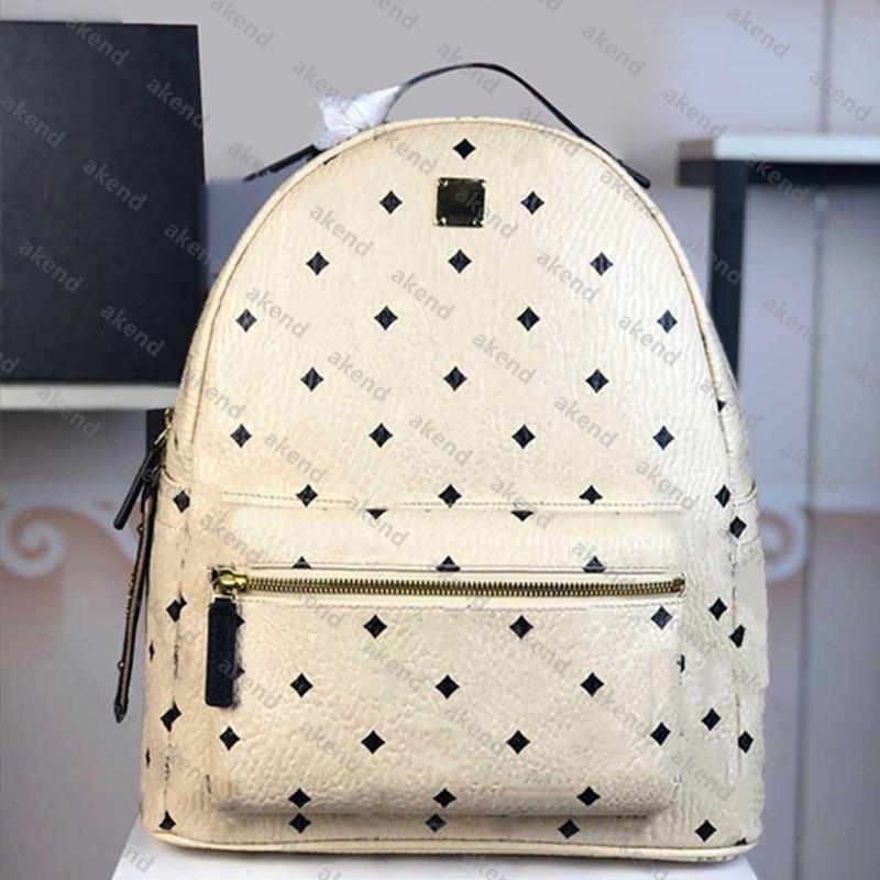 High quality Genuine Leather fashion backpack shoulder bag Luxury designer messenger for women Back pack Style men canvas handbag School classic parachute fabric