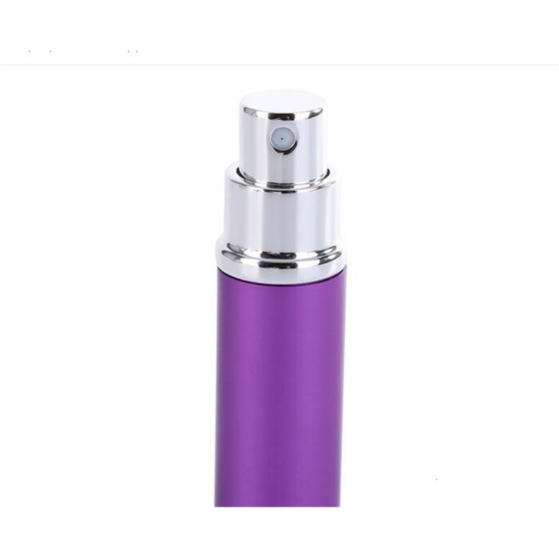 5ml Aluminum Glass Bottle 5ML Gift Perfume Bottles High Quality Refillable Mini Scent-bottle Perfume Spray Atomizer