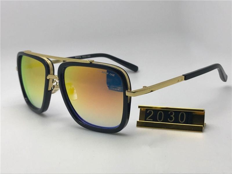 Men 2030 Sunglasses New Retro Full Frame Glasses Eyewear newest mach one Sunglasses Vintage Eyeglasses