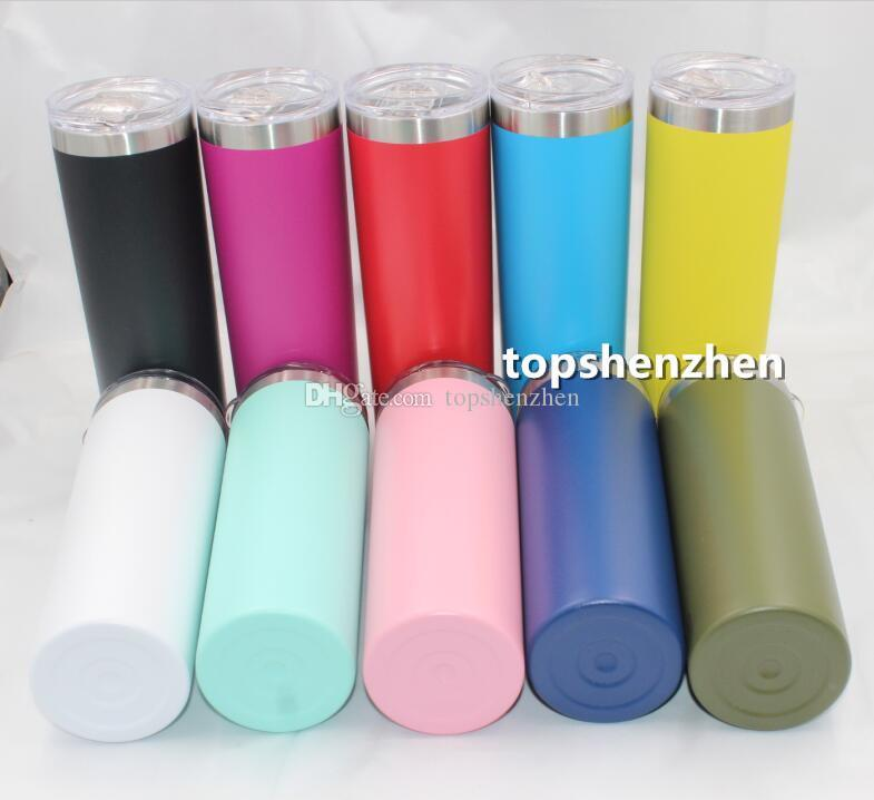 20oz 30oz Skinny Tumbler Double Wall Stainless Steel 12oz kids bottle 36oz 30oz 20oz 10oz 18oz 12oz Wine Tumbler Vacuum Insulated Mug Cups