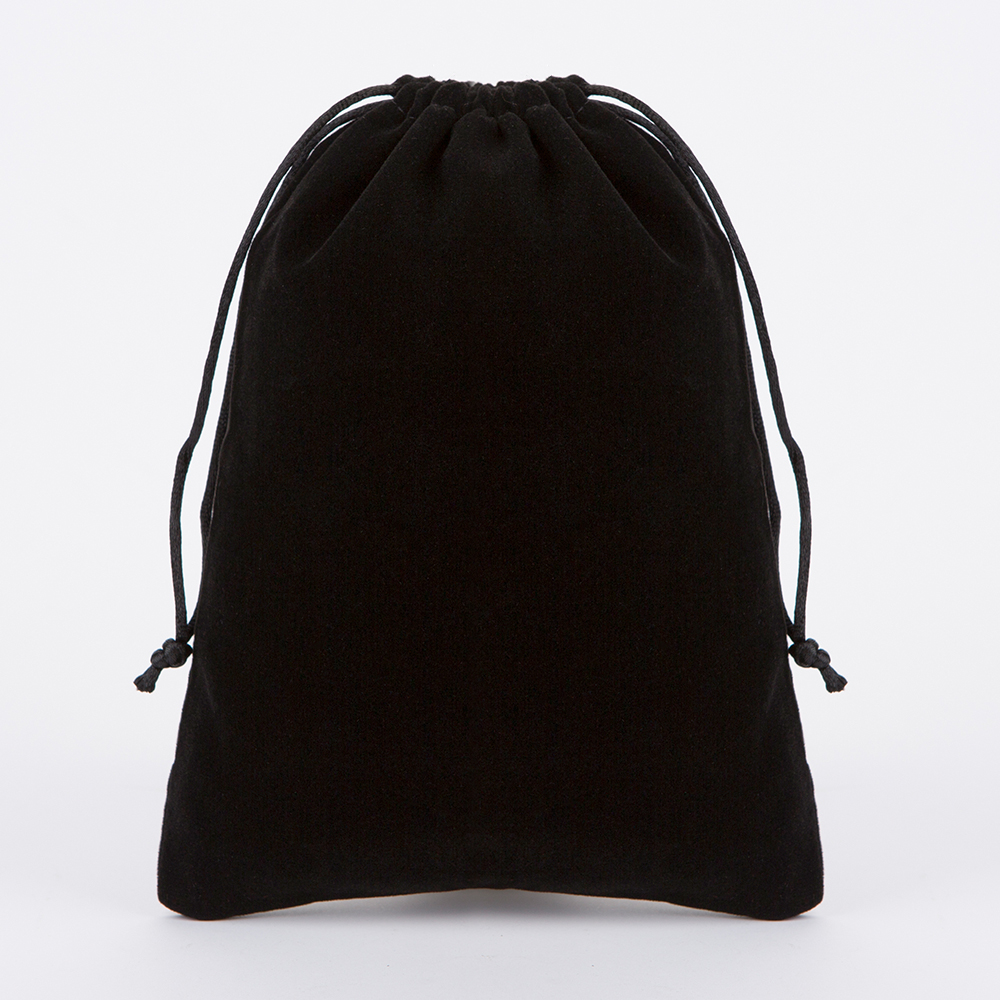 2Pcs 10*18cm Velvet Drawstring Gift Pouch Bags Fit...