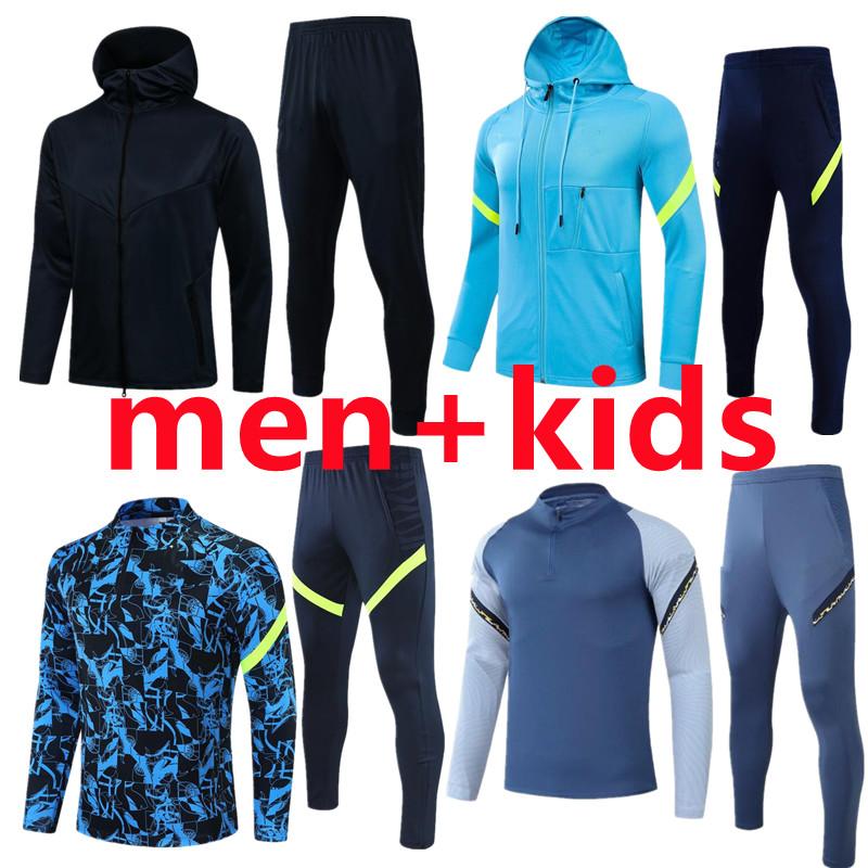 men+kids 21 22 Kane tracksuits TOT mens jacket Bale Tottenham training wear suits hoodie soccer jersey sportwear Son football pre match polo shirt track suit tshirts