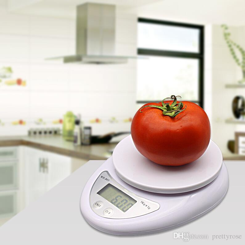 Portable Electronic Weight Balance Kitchen Food Ingredients Scale High Precision Digital Weight Measuring Tool with Retail Box DHL