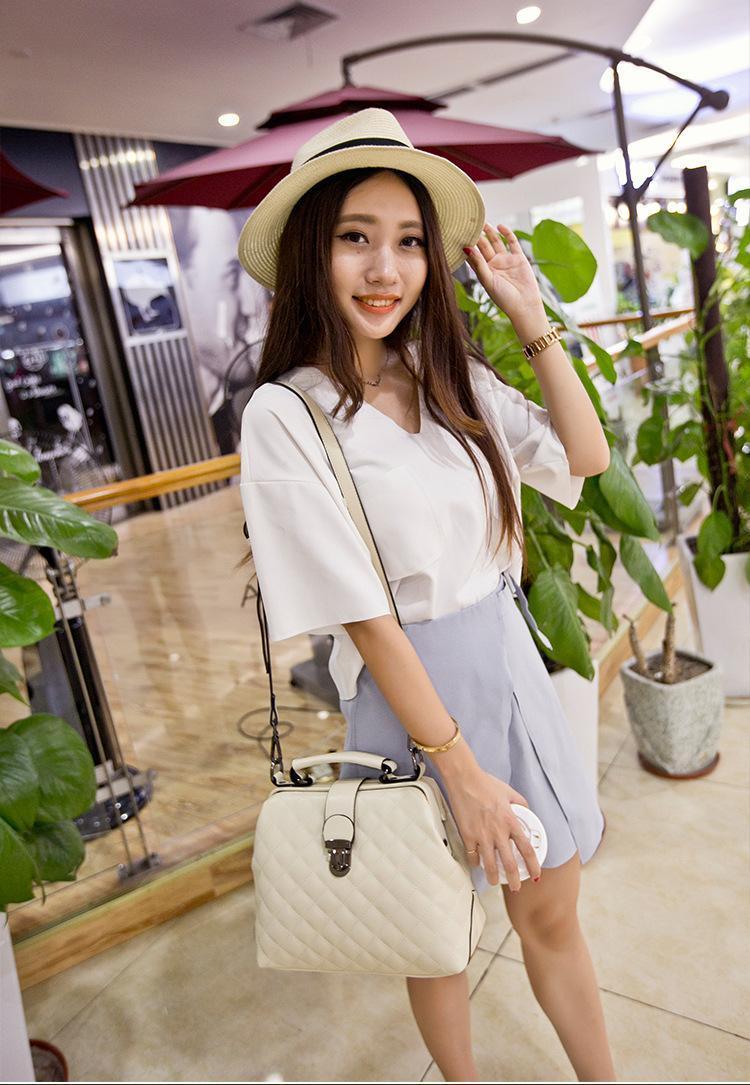 HBP Handbag Doctor bag Shoulder Bags messenger bag purse new Designer woman bag simple Retro fashion