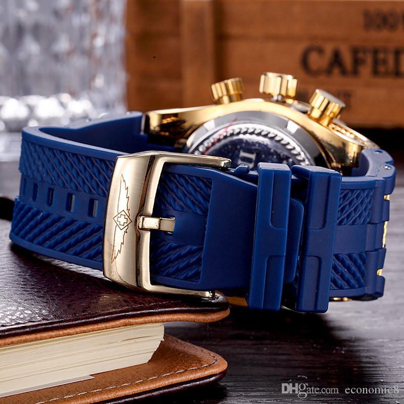 Swiss ETA Watches DZ men`s Outdoor sports watches relogio masculino wristwatch military watch good gift INVICTA dropship