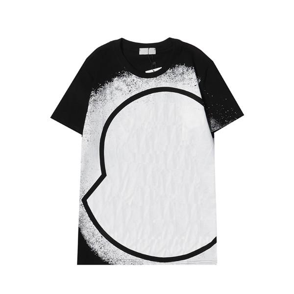 Fashion men casual t shirt Mens Designer T-shirt Women Paris France Street Shorts Sleeve Round Neck Tshirts