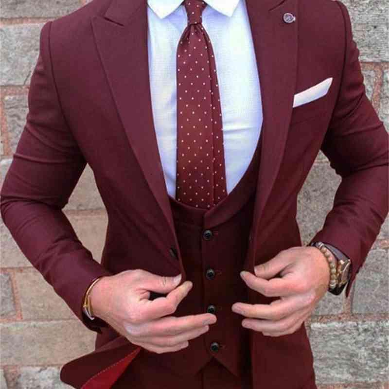 Custom Slim Fit New Mens Green Wedding Prom Suit Slim Fit Men Business Groom Suits Party Dinner Tuxedo Suit Jacket Vest Pants 6198