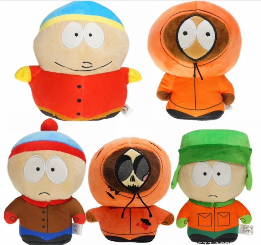 5 colors 18-20 cm Plush toy South Park doll grab machine Children's gift Boys and Girls Toys Stuffed Animals Movies TV