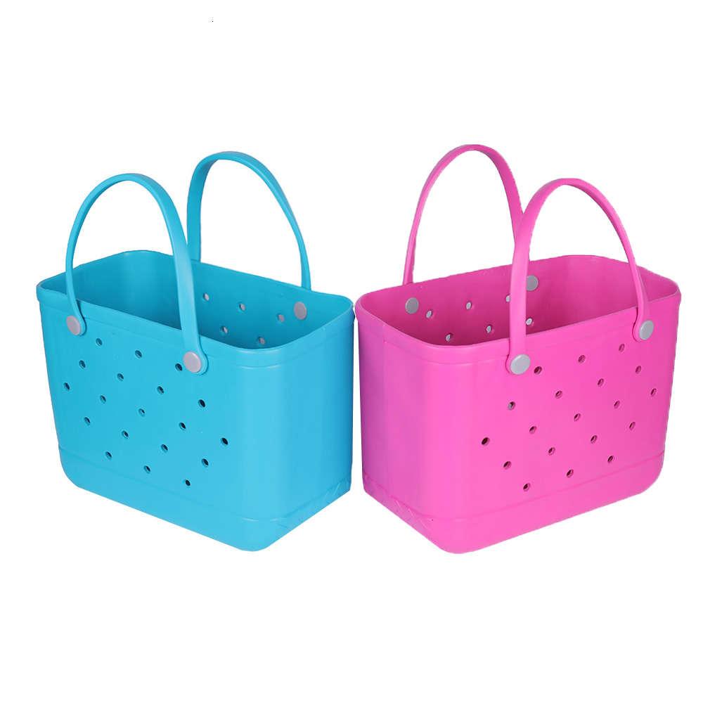 Womens Women Wholale Waterproof Tote Bags Custom Hol Summer Rubber Tot Pvc O Large Fashion Eva Plastic Beach Silicone Bag
