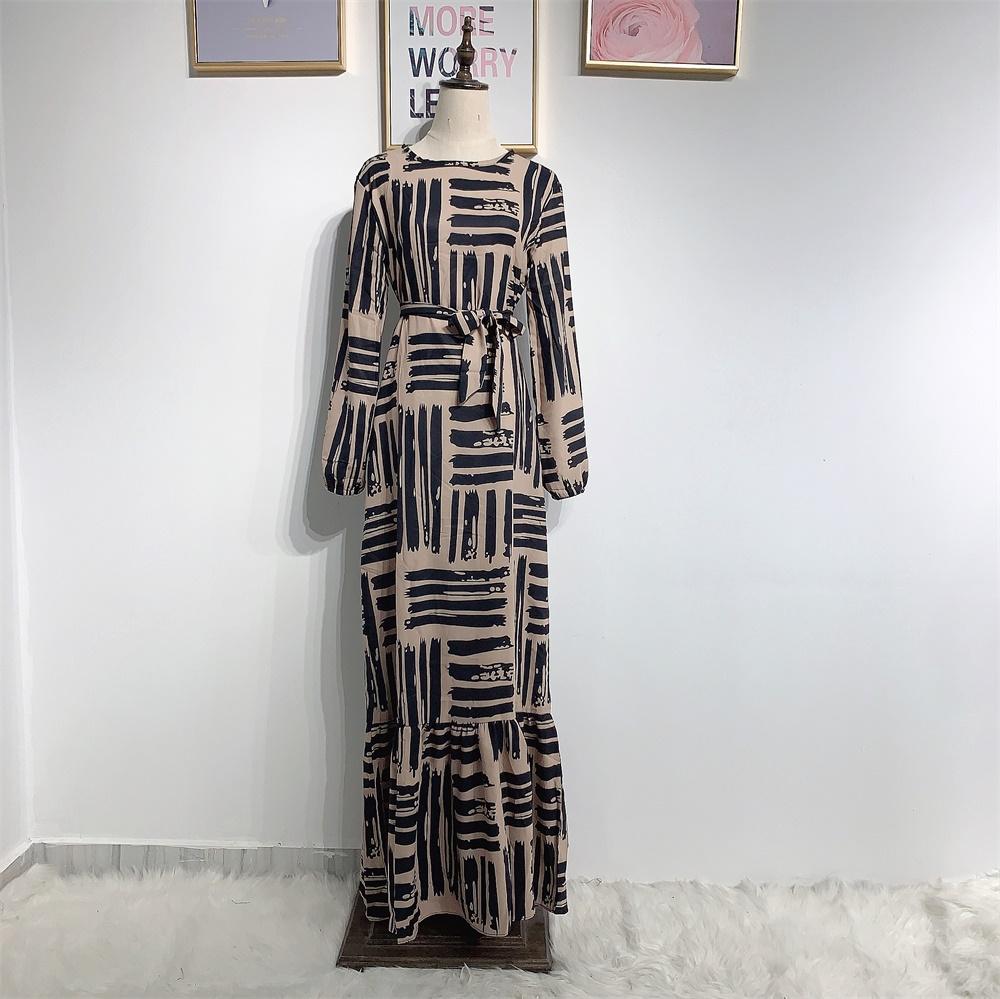 Eid Mubarek Muslim Fashion Dubai Abaya Turkey Hijab Summer Dress Kaftan Caftan Islam Clothing For Women Robe Femme Ete Vestidos (4)