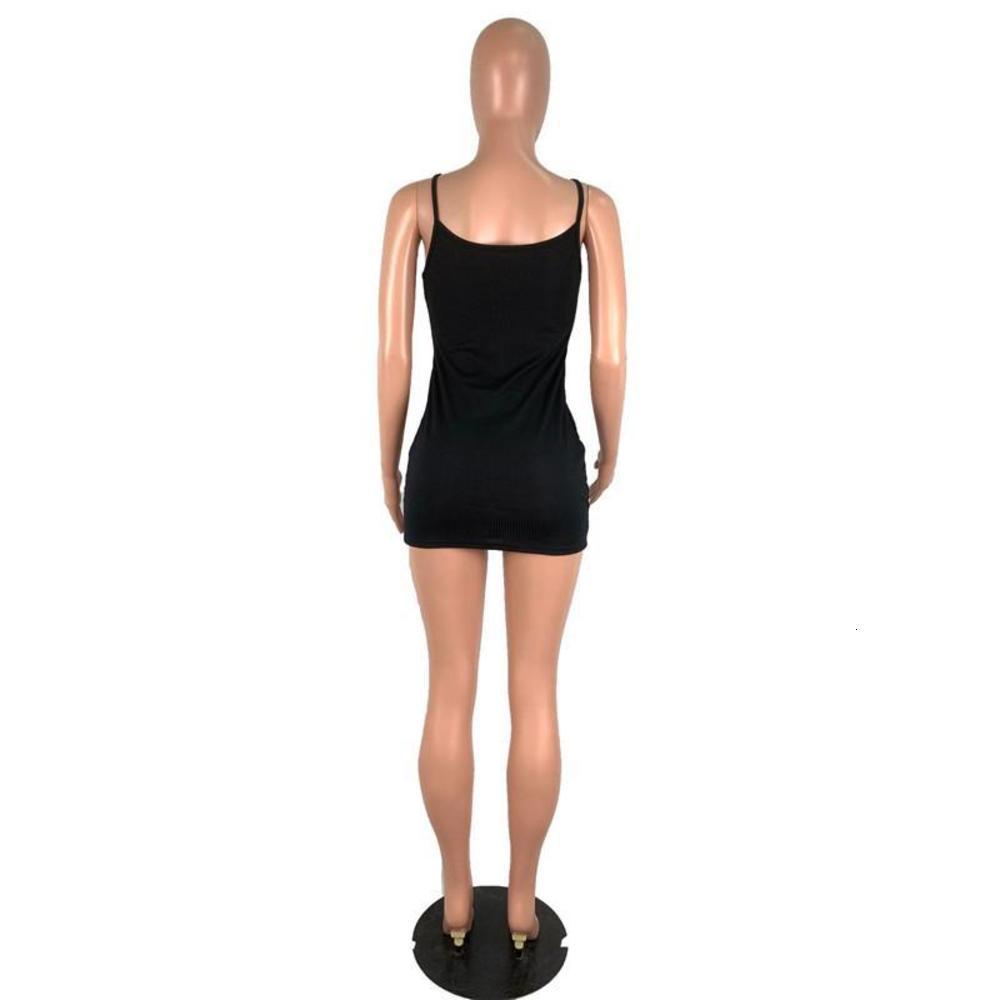 Summer Womens Bodycon Dresses Casual Females Dresses Sexy Spaghetti Strap Womens Designer Dresses Fashion Solid Color