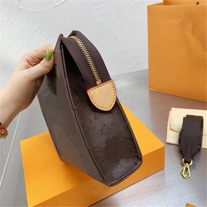 2021 luxury women purses clutch bags with flowers Unisex designers crossbody shoulder bags small lady wash bag wallet flaps detachable strap