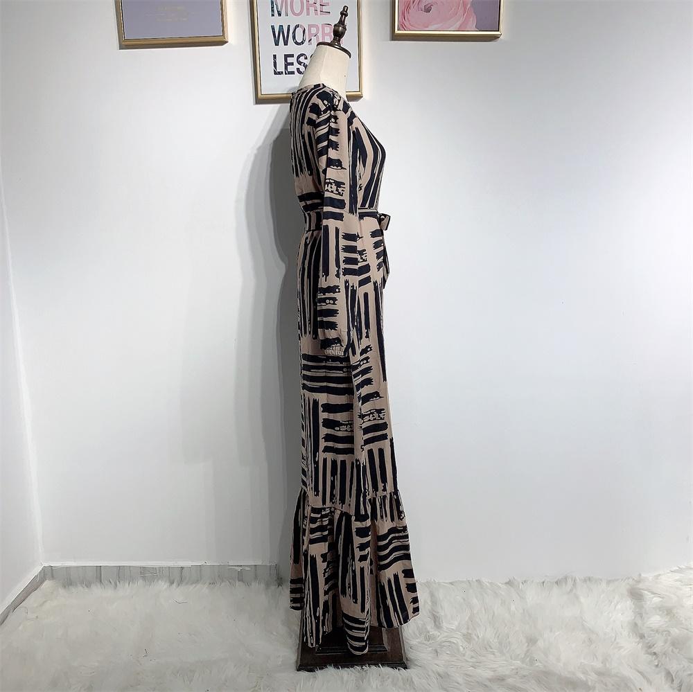 Eid Mubarek Muslim Fashion Dubai Abaya Turkey Hijab Summer Dress Kaftan Caftan Islam Clothing For Women Robe Femme Ete Vestidos (2)