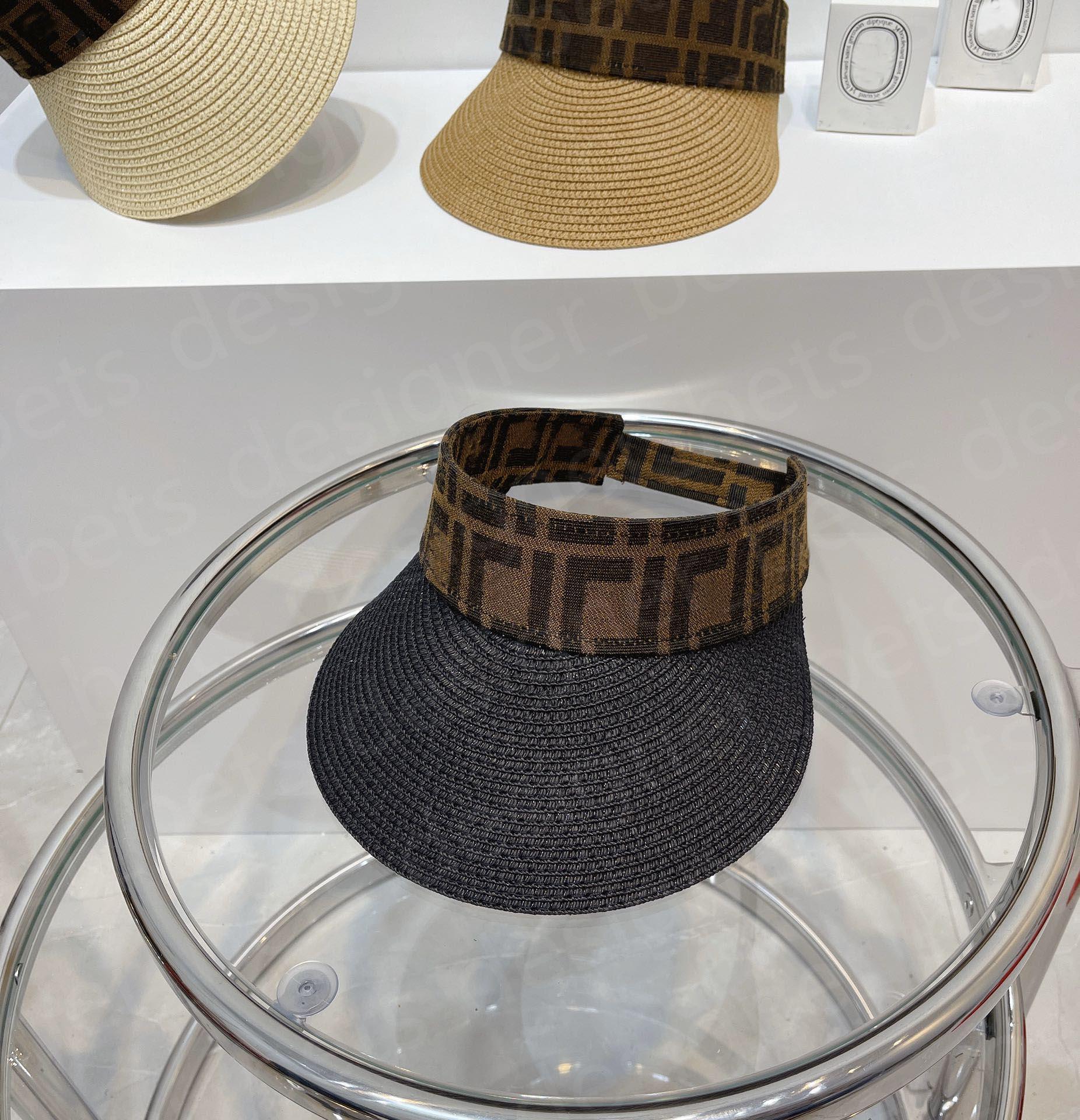 2021 Casual Summer Visor Sun men design 3 color Sports Hat mens women Golf Tennis Outdoor Beach Headband Snapback Baseball Hats