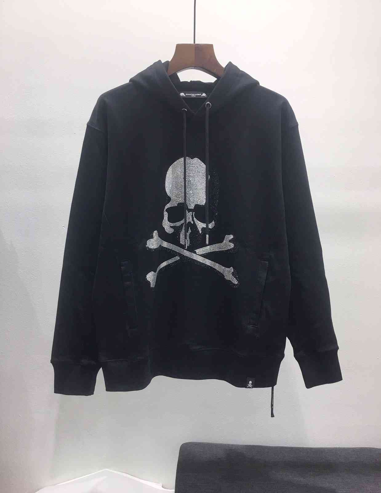21ss Japan mj hoodies crystal skull streetwear hip harajuku mastermind hoodie