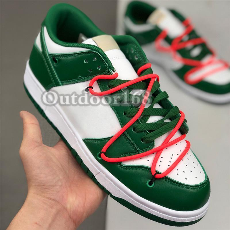 2021 Chunky Basketball Shoes University Red Pine Green white shadow Classic Sneakers yeelow bear Travis Scotts Men Women Trainers with tag
