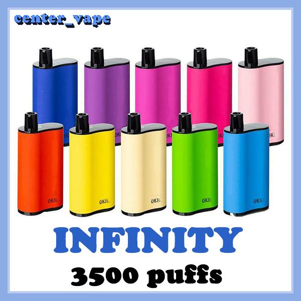 Fumed INFINITY Disposable e cigarettes 1500mah battery capacity 12ml with 3500 puffs vs extra ultra Vape Pen