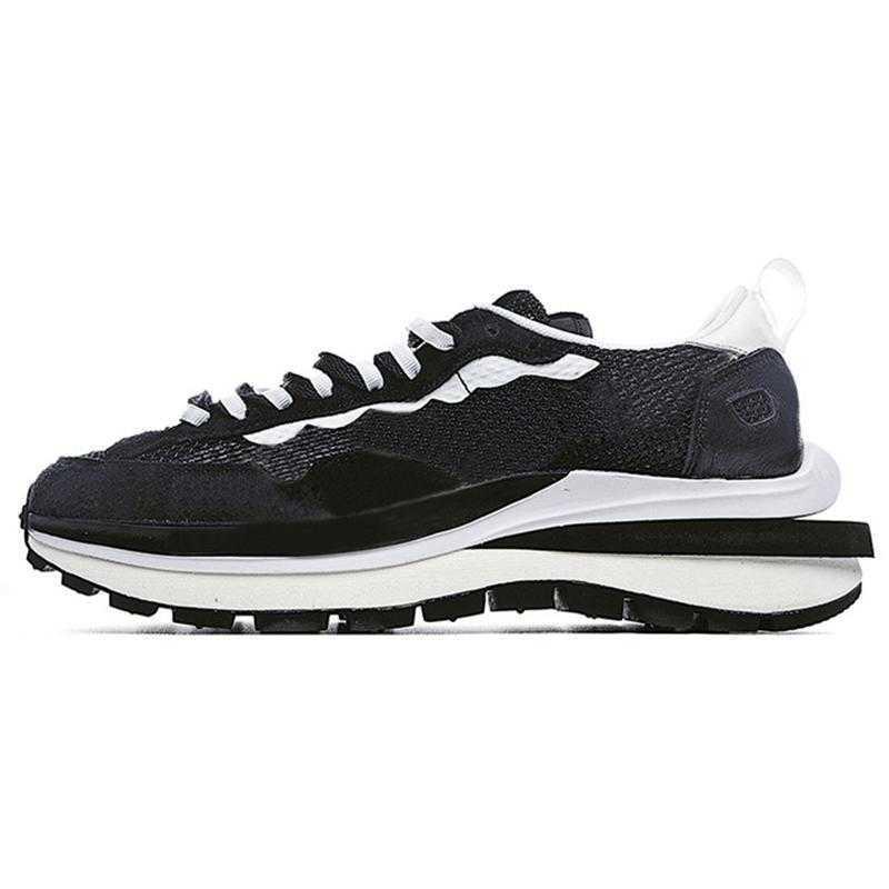 2021 Nlke Running Shoes Dark Iris Sesame Blue Void Sacais x Waffle LDV VaporWaffle Pegasus Nylon Black White Off Trainers Sneakers Size 36-45