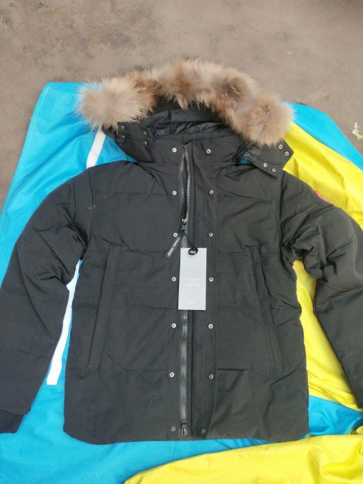 2023 Parka Man Jassen Daunejacke Wyndham outwear Big Hooded Fur italy Coat Winter Down Jacket