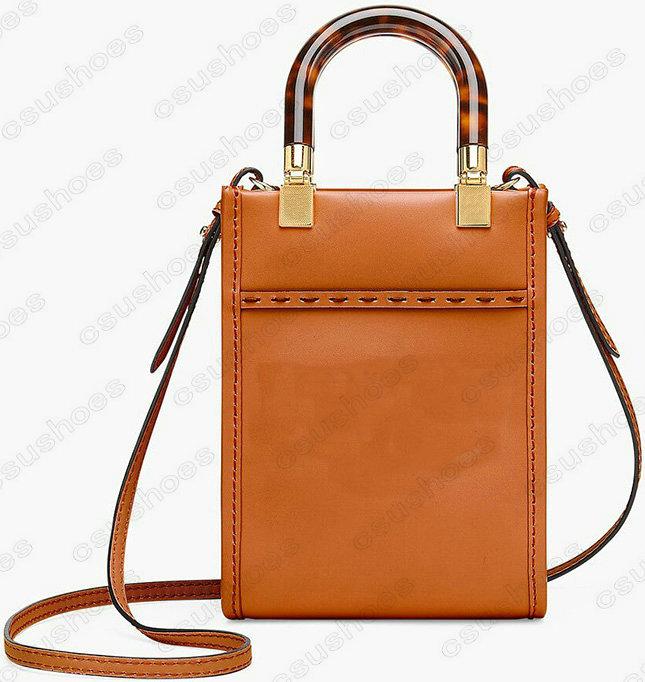Mini Sunshine Shopper Tote Womens Shoulder bag Handle bags Leather Crossbody Designers Luxurys Wallet Purse