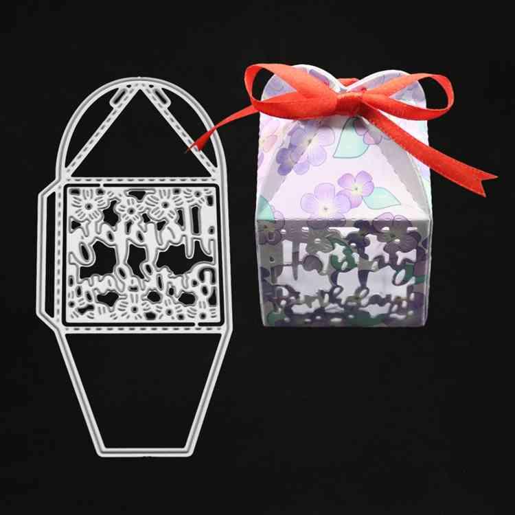 Gift Box Candy Box Dies Metal Cutting Dies 2019 DIY Scrapbooking Valentine's Day Decoration Craft Dies Cut for Card Making
