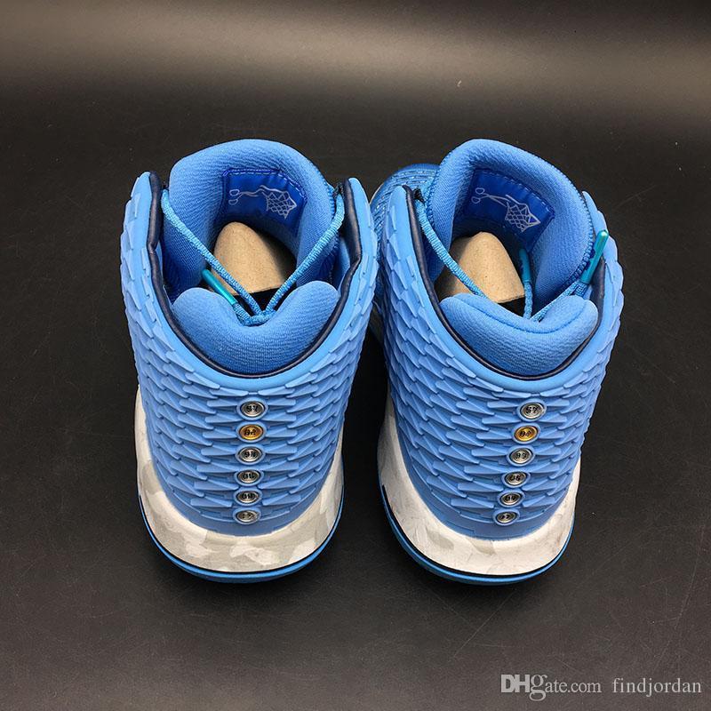 New sneakers men 32 XXXII UNC Weave basketball shoes Tar Heels University Blue Kurim overlay marbled midsoles outdoor sports traine