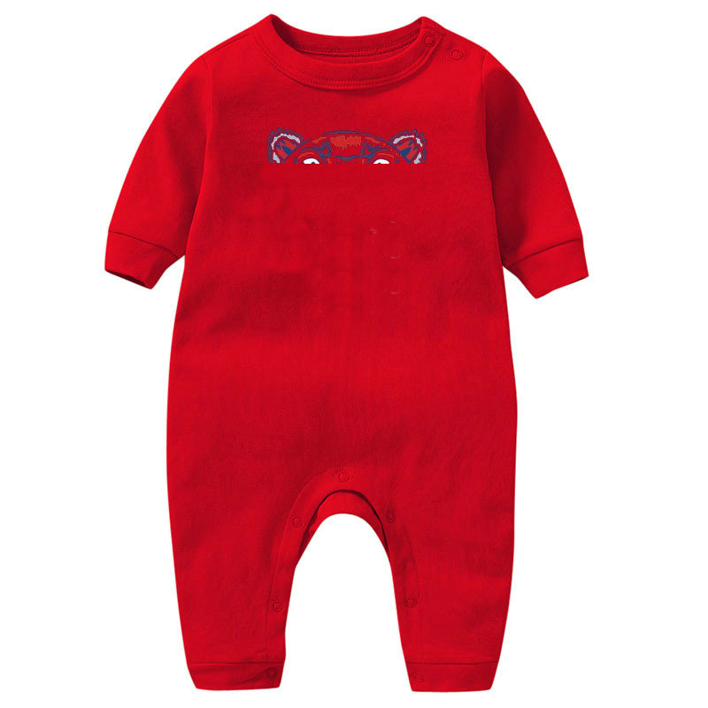 In stock Baby Jumpsuits Boy girls Clothes Romper Cotton Newborn Kids Designer Jumpsuit fashion Clothing A01