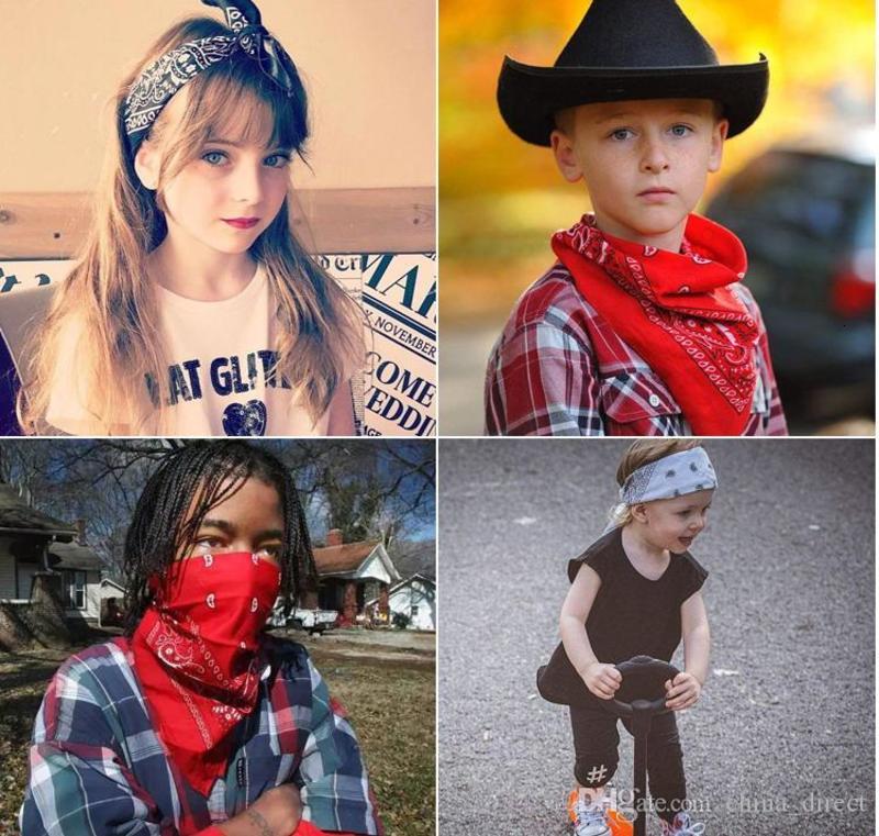 Unisex cotton Paisley Hip Hop Bandanas magic headscarf riding mask Tube Neck Face Headscarves Sport magic Headband Wristband