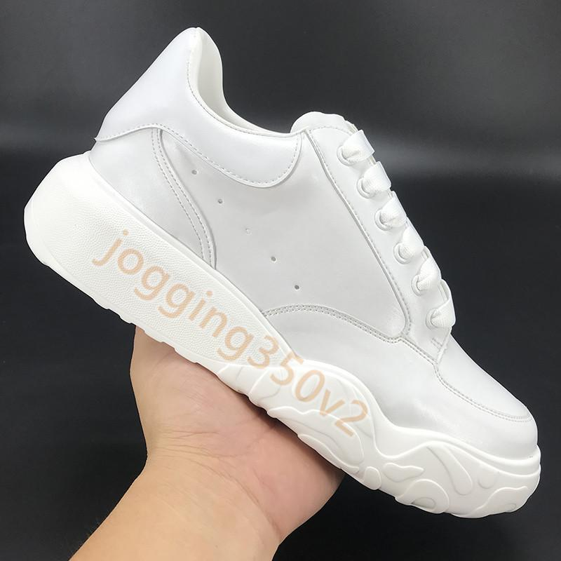 2021 Fashion mens shoes court trainer platform rainbow glow in the dark white blue black red navy pink orange women casual sneaker