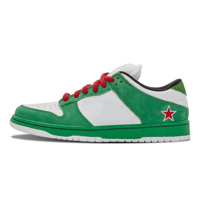 Men Running Shoes Authentic Sneakers Heineken Sean Chunky Dunky Civilist Yellow Bear University Red Kentucky Syracuse Mens Womens Sports Skate Trainers