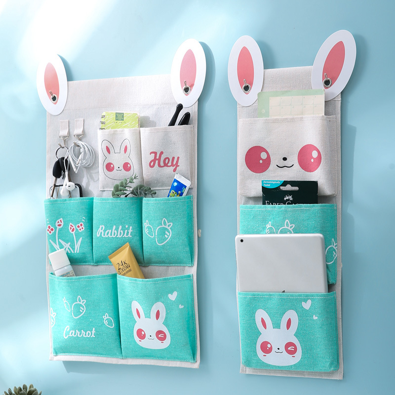New Style Cloth Storage Bag Organizer Sundries Multi Purpose For Dormitory Home Back Door Bathroom Wall Shelf Hanging Bag