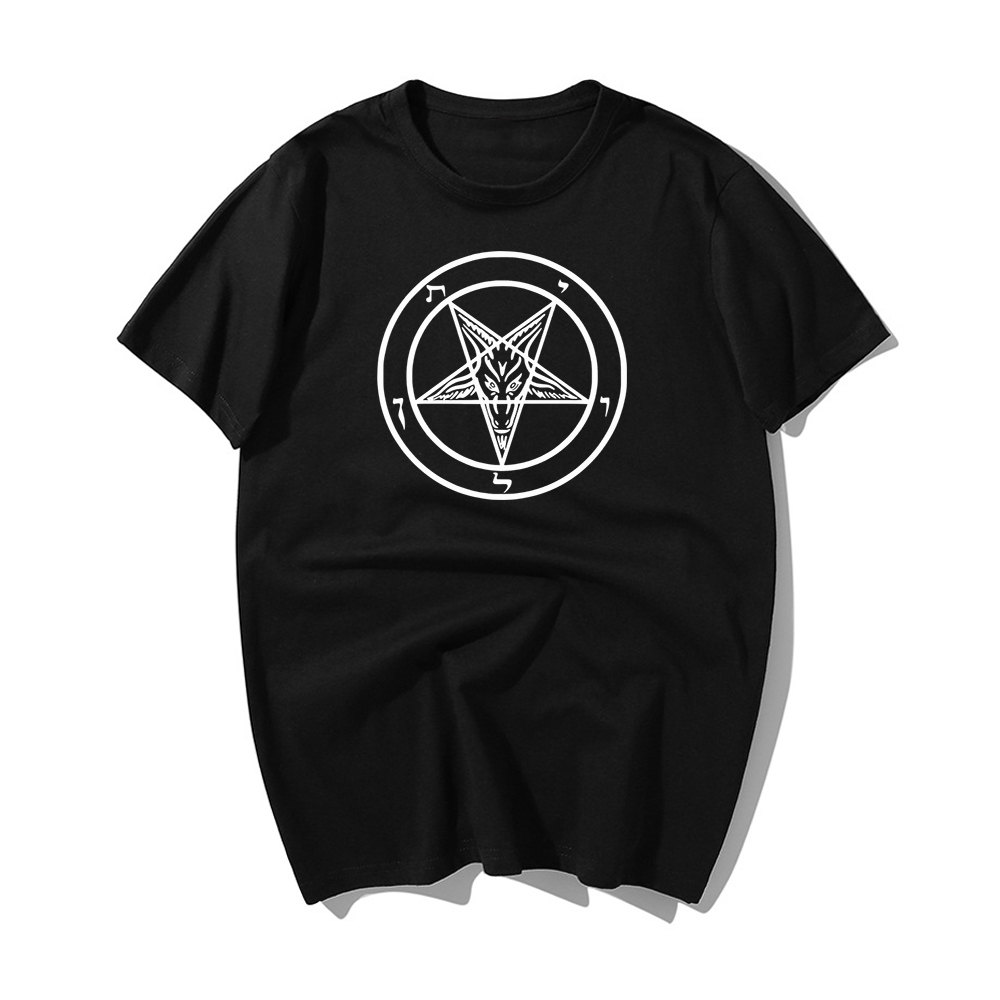Pentagram Gothic Occult Satan New Men