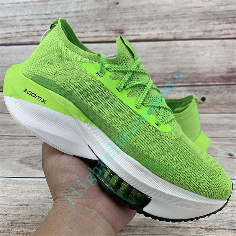 2020 new zoom alpha watermelon fly next% running shoes mens black electric green bred white orange tour yellow volt knit womens Sneakers