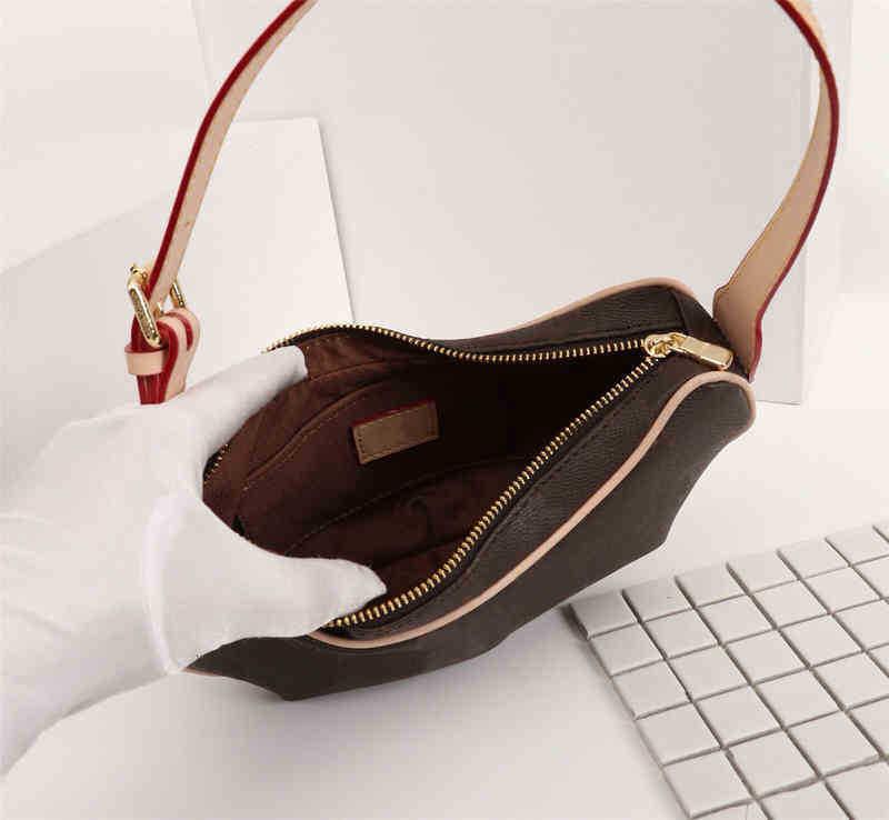 High Quality Fashion Designer Luxury Handbags Purses Medieval Pea Under Armpit Bag Women Brand Classic Style Genuine Leather Shoulder Bags