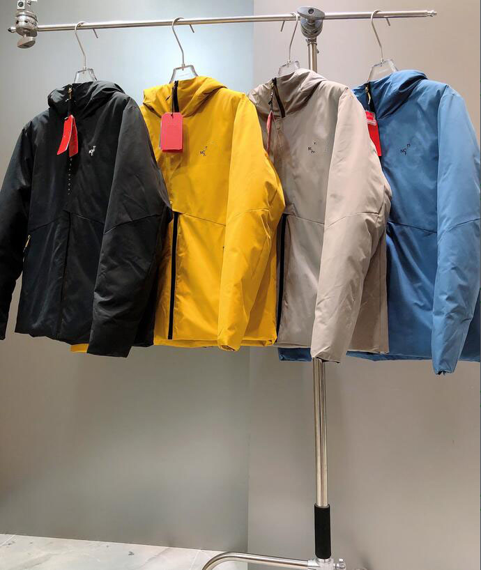2022 new jacket down jacket men's waterproof and windproof high quality down coat hooded white duck down coat Parkas