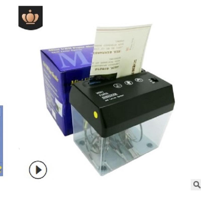 2020 hot sale A6 USB Mini Mini Electric Creative Desktop letter shredders Office School Supplies Office School Business Industrial